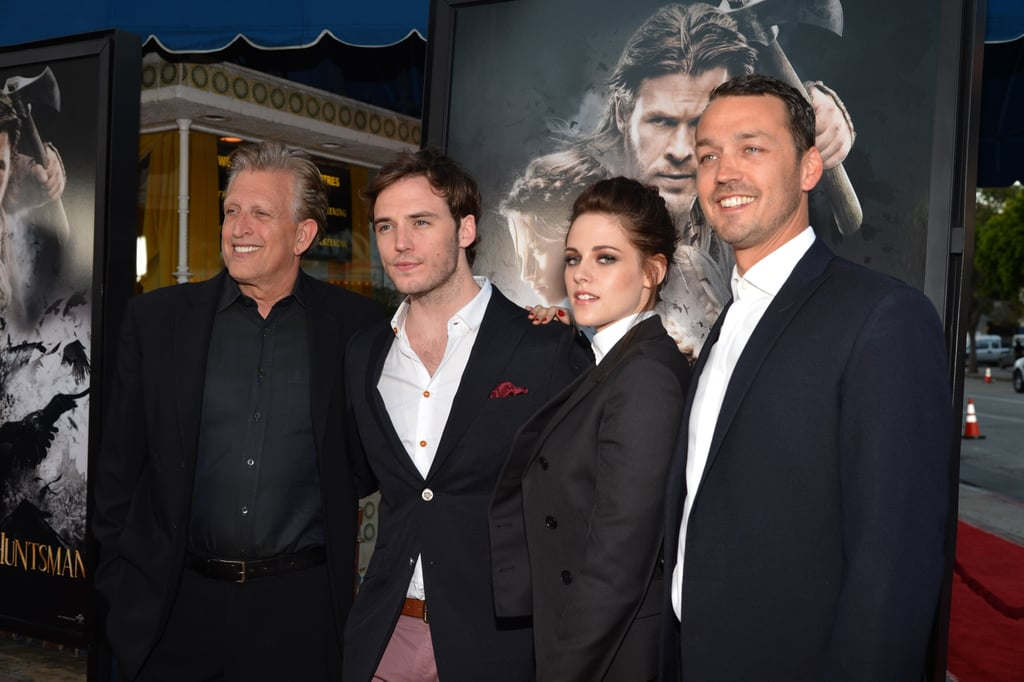 Kristen Stewart Chats With Fans and Screens SWATH in LA