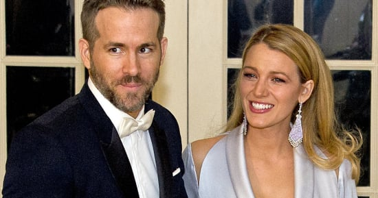 Blake Lively Wears A Glorified Silk Robe To The State Dinner