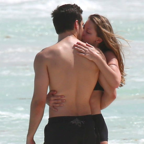 Melissa Benoist and Chris Wood in Mexico Pictures March 2017