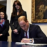 Kate Middleton and Prince William's Message For France