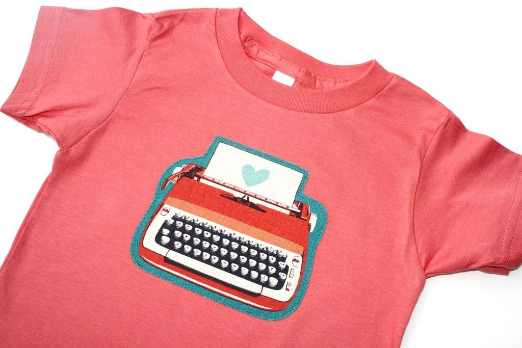 The Typewriter Tee