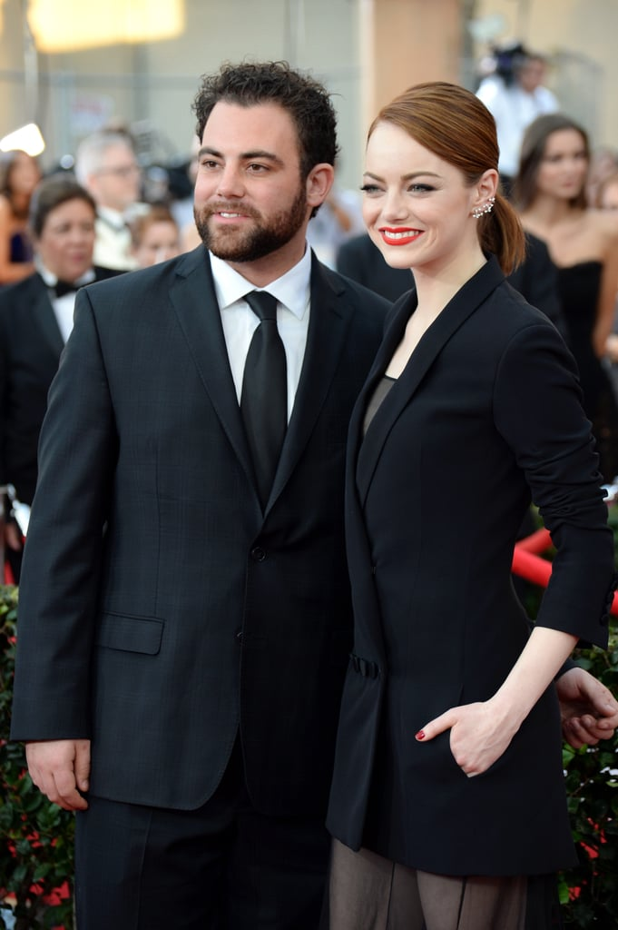 Emma stones brother spencer joined her again for the sag awards emma stones brother spencer joined her again for the sag awards sciox Gallery