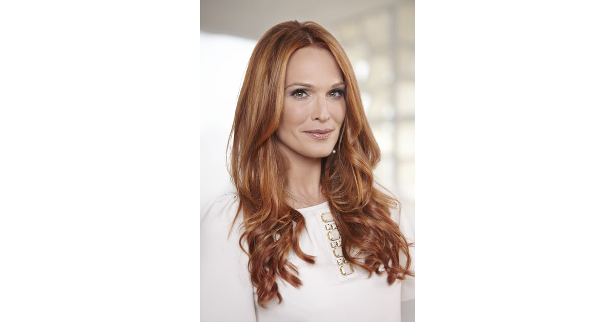 Molly Looking Red Hot Molly Sims Red Hair Color Change With Aura