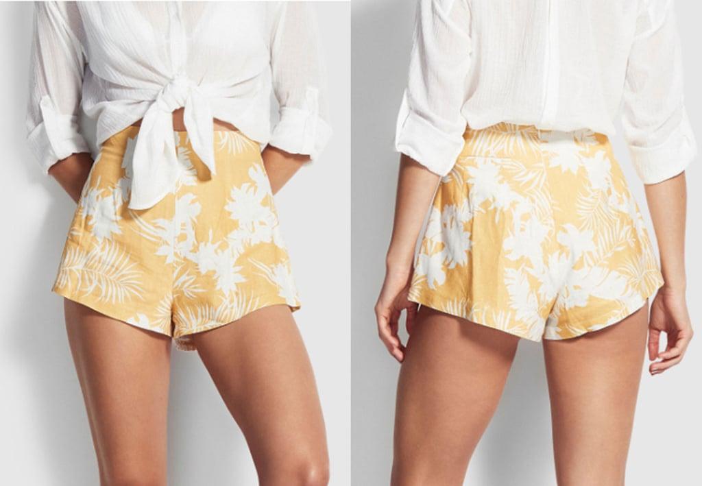 Wild Tropics Linen Short ($99.95).