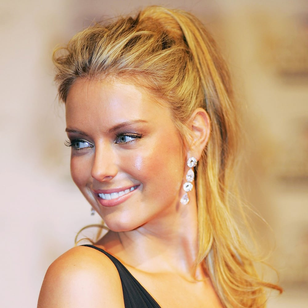 A messy up 'do at the 2006 TV Week Logie Awards.