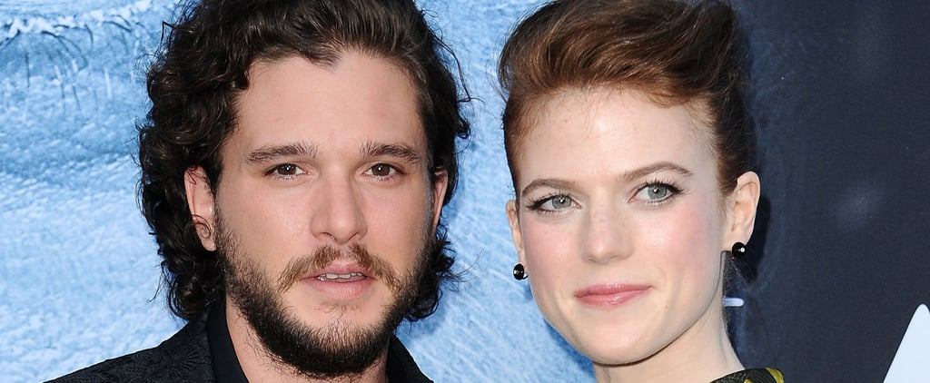 Kit Harington and Rose Leslie Announce Their Engagement in the Sweetest Way