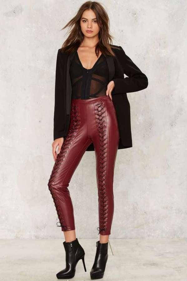 Lace-Up Pants Trend   POPSUGAR Fashion c58c3ddf5ba1