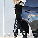 Pregnant Khloé Kardashian Covers Up Her Stomach While Out and About in LA