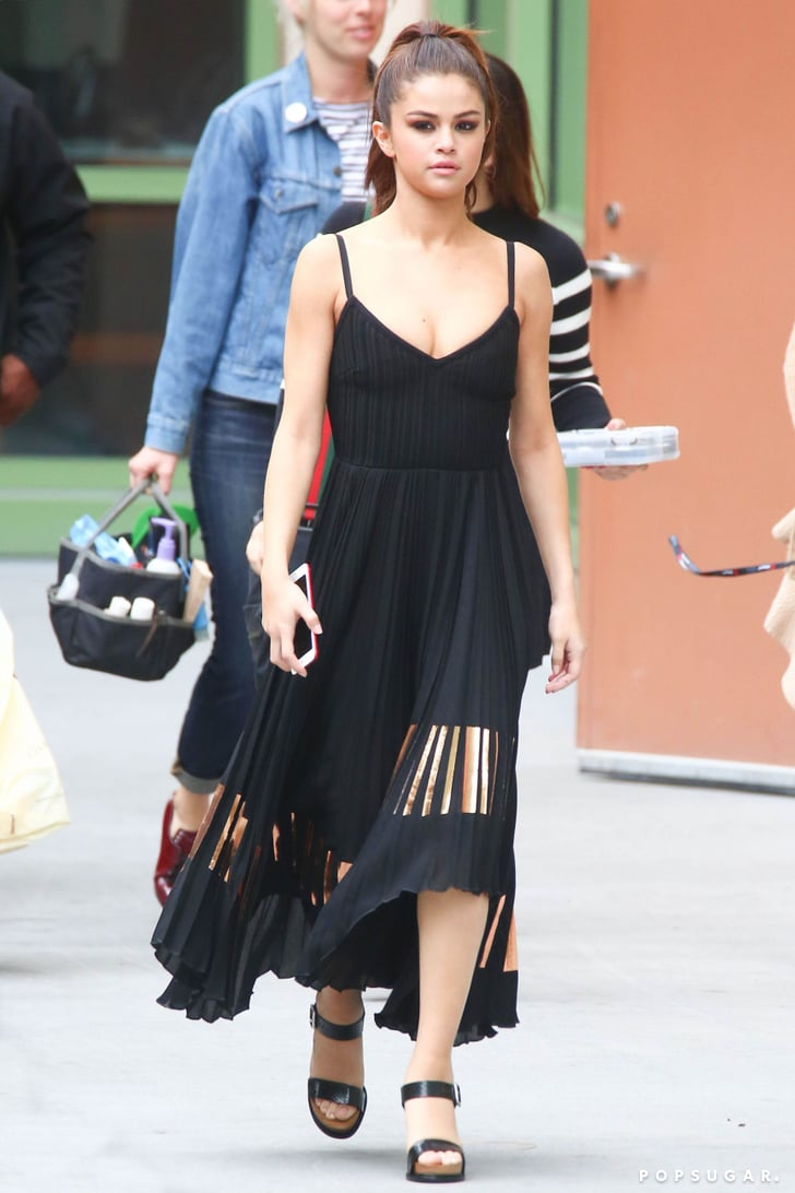Selena Gomez Summer Dresses Popsugar Fashion