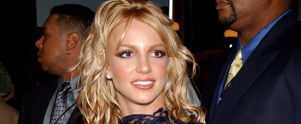 "Britney Spears Gave a Nostalgic Nod to Her Iconic Lace Look in the ""Make Me"" Video"