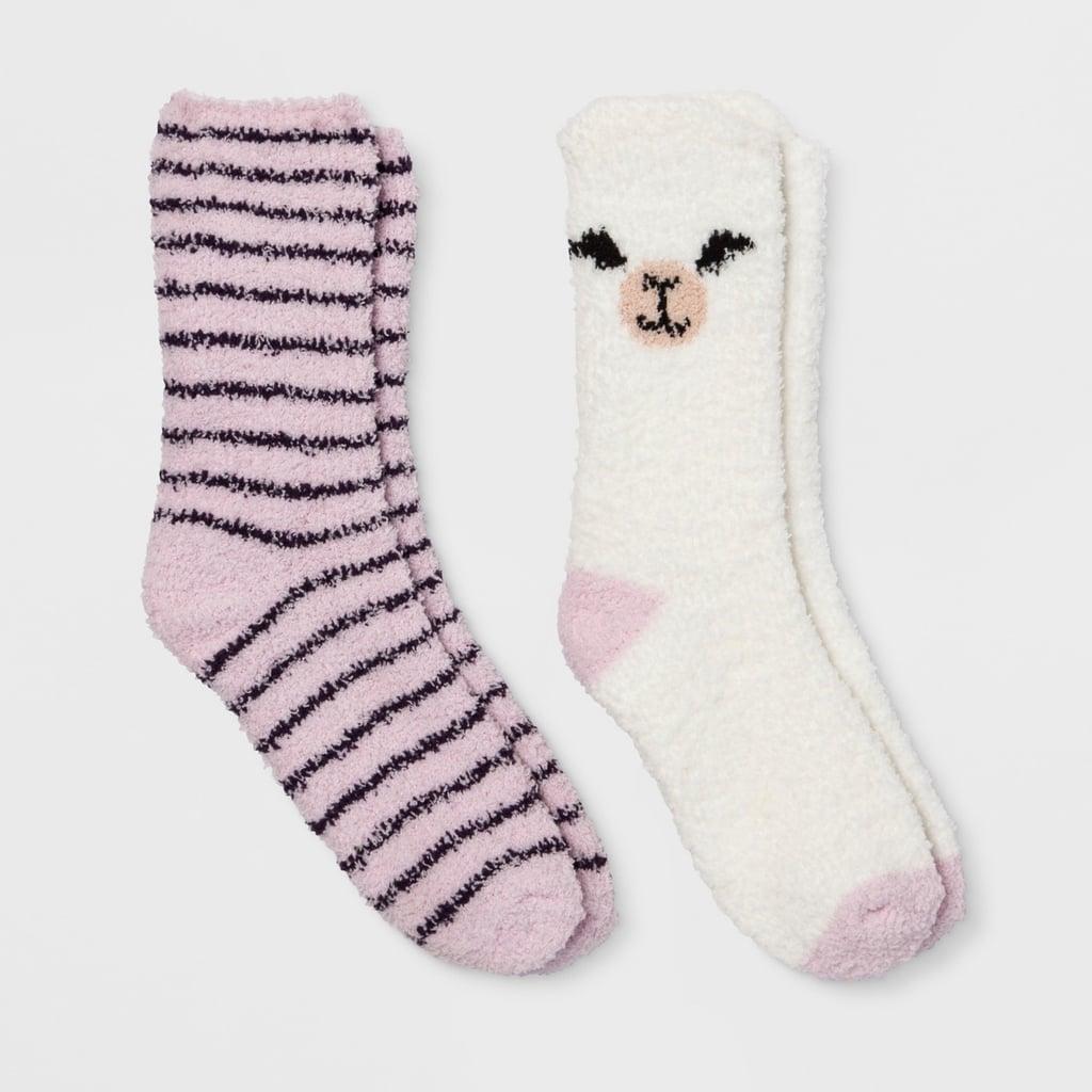 Llama Cozy Crew 2pk Casual Socks