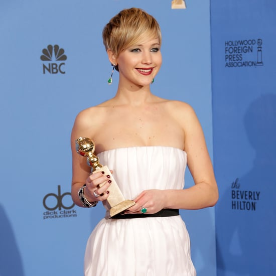Jennifer Lawrence Golden Globes Pressroom 2014