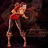 Sexy Belle as Gaston