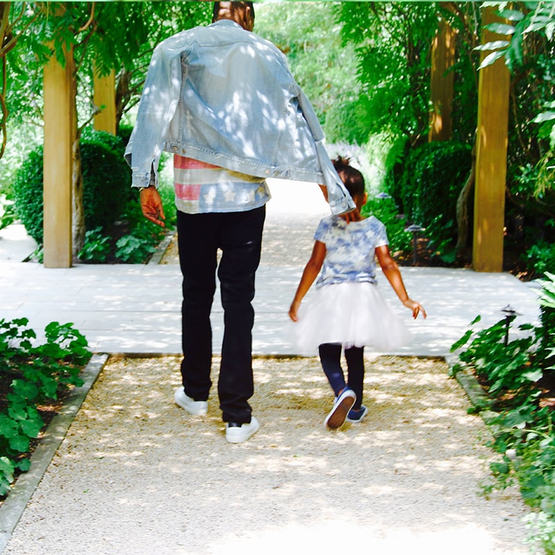 Jay Z and Blue Ivy Carter Pictures