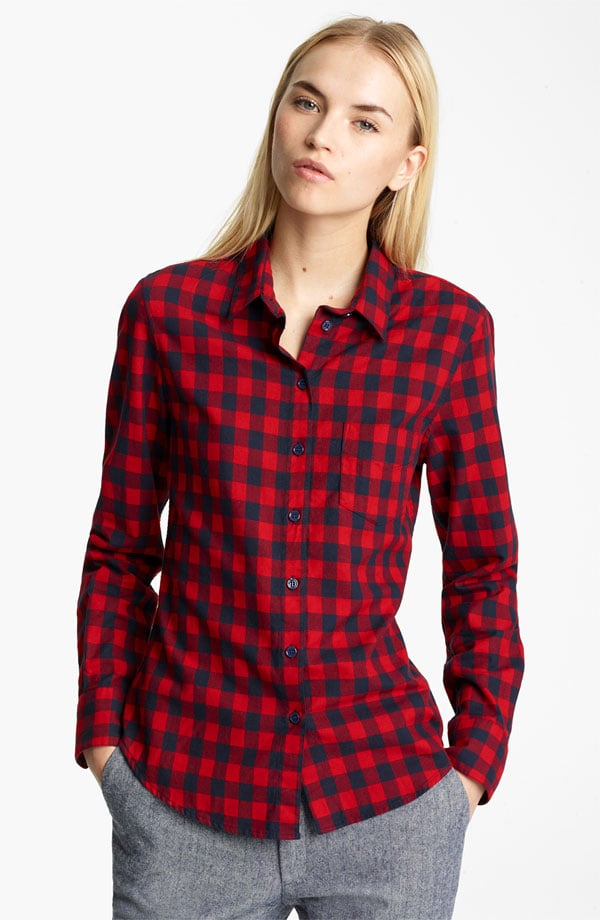 Growing up in the Northeast and going to college in the Berkshires has bestowed upon me a love of plaid. Band of Outsiders is one of my favorite brands out there, as they do updated versions of classically American pieces. I can easily see this buffalo plaid shirt from Boy by Band of Outsiders  ($280), becoming a go-to piece for an easy outfit choice before running to class on Monday morning.   — Robert Khederian, editorial intern