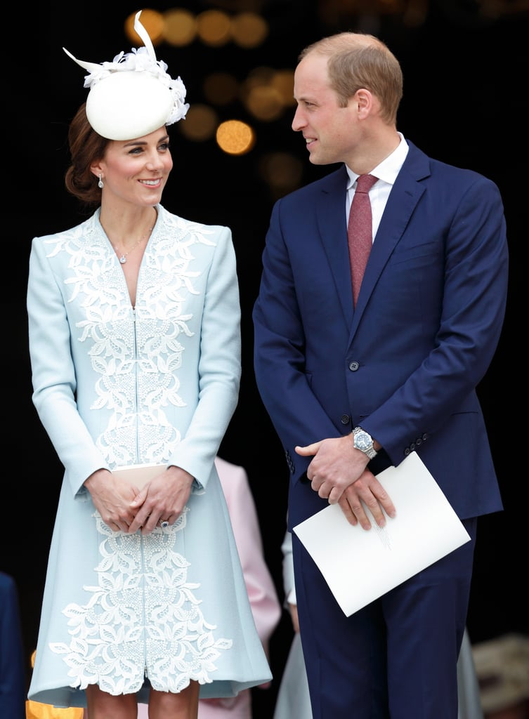 The pair looked adorable together as they attended a national service of thanksgiving for the 90th birthday of Britain's Queen Elizabeth II in London in June.