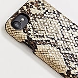 My Accessories London Exclusive Natural Snakeskin iPhone X Case