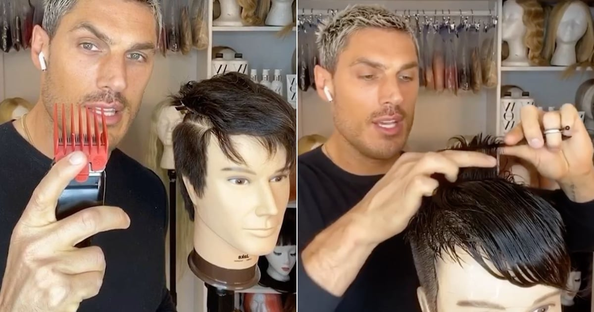 Kim Kardashian's Hairstylist Breaks Down How to Cut Men's Hair at Home