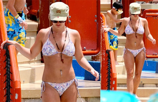 Photos of Britney Spears in a Bikini in the Bahamas