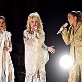 Maren Morris, Dolly Parton, and Miley Cyrus