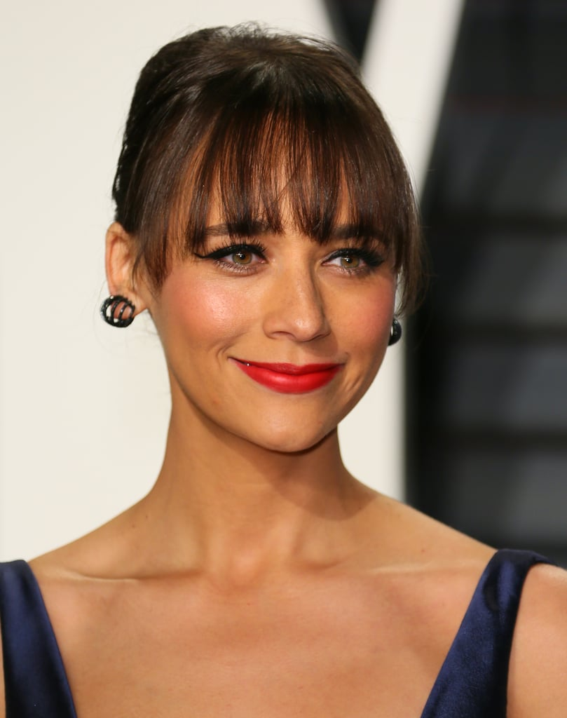 Rashida Jones At The Oscars 2017 Celebrities Wearing Glossier