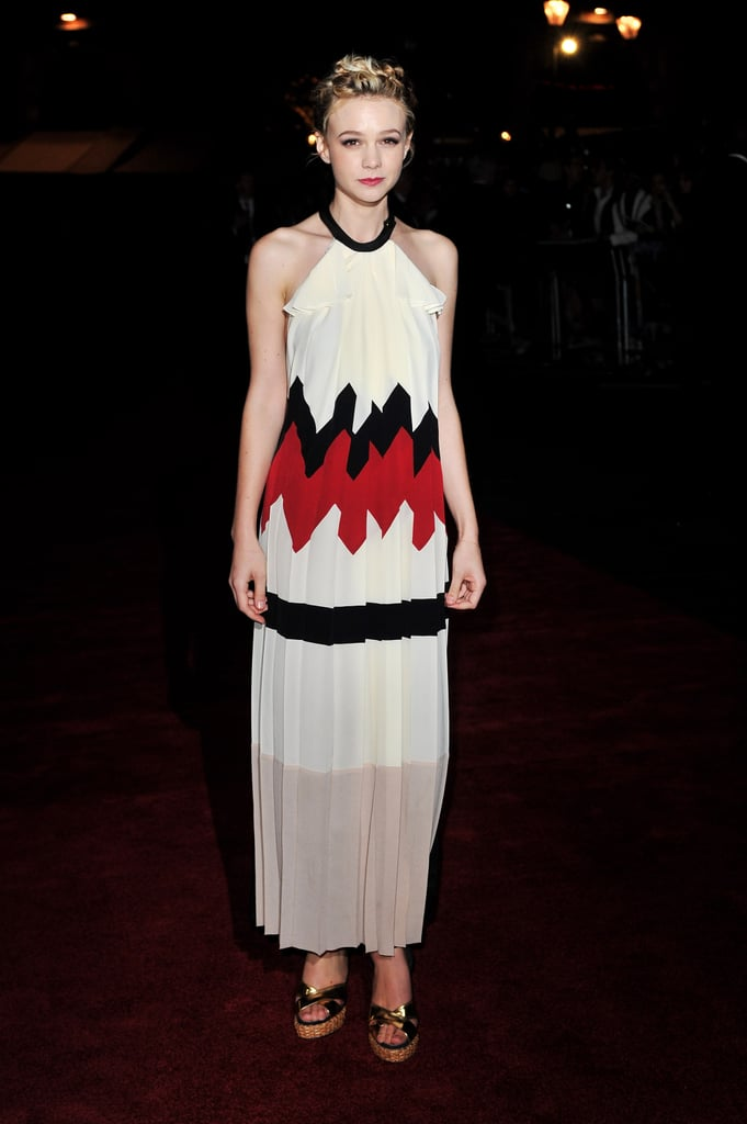 Carey Mulligan in Vionnet at the 2010 London Film Festival