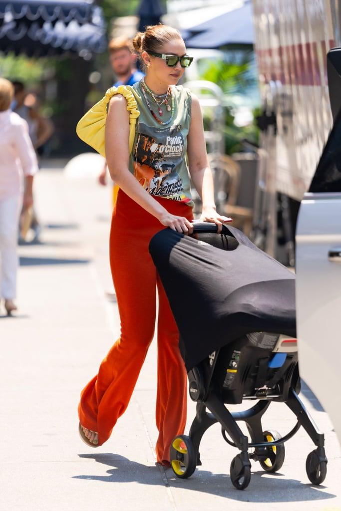 Nanga Awasum Chooses a Favourite Gigi Hadid Outfit