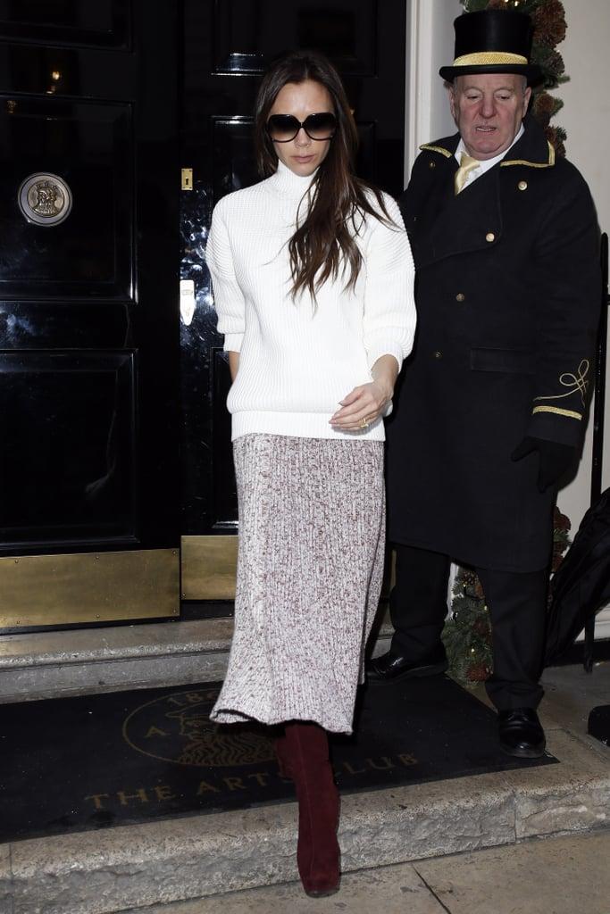 Victoria Beckham's Turtleneck Style