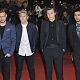 The One Directions guys — sans Louis Tomlinson, who tweeted about being sick — brought star power to the NRJ Music Awards in Cannes, France, on Saturday.