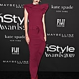 Hunter Schafer at the InStyle Awards 2019