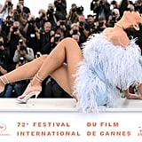 Leyna Bloom at 2019 Cannes Film Festival