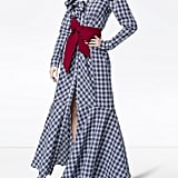 Johanna Ortiz Under New Mexico Skies Frill Gingham Maxi Dress