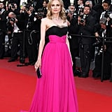 Melding fuchsia and black Jason Wu at the 2010 Cannes Film Festival.