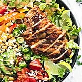 Fiesta Lime Chicken With Chipotle Dressing