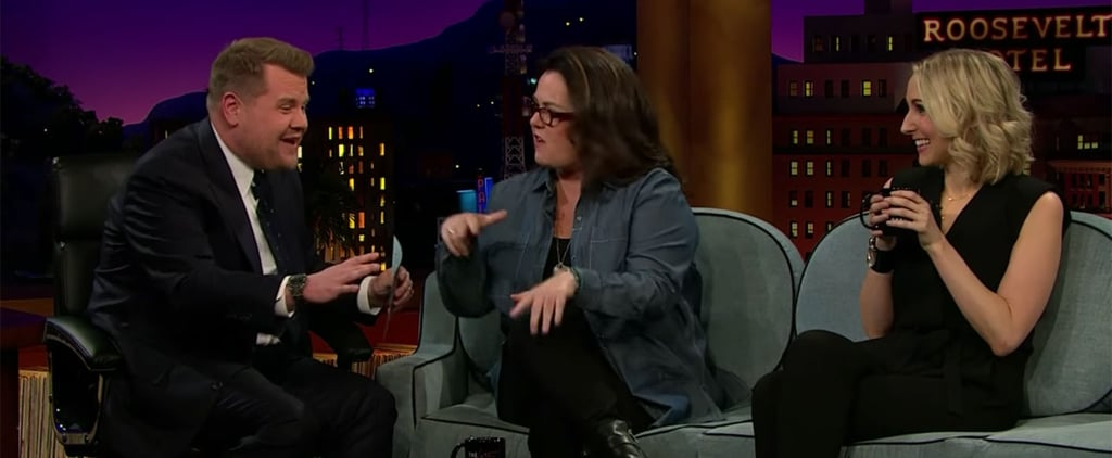 Rosie O'Donnell and James Corden Rap Video