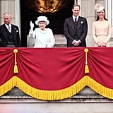 Will and Kate Reconnect on the Buckingham Palace Balcony For the Diamond Jubilee