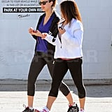 Jessica Alba Gets an Early Start at the Gym and Park With Honor