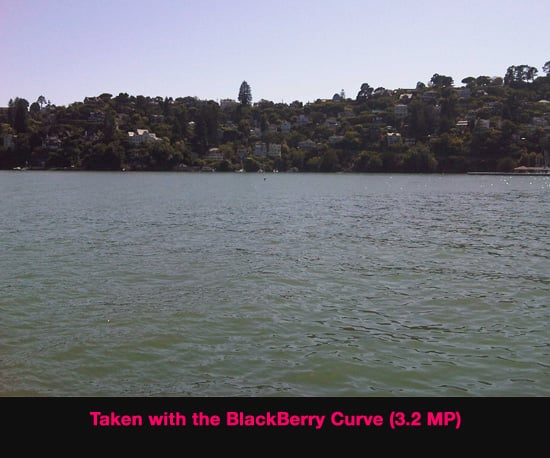 Comparing BlackBerry Peal and Curve Camera Pics