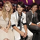 Jonas Brothers' Reaction to Taylor Swift's BBMAs Performance