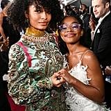 Yara Shahidi and Marsai Martin at the 2020 NAACP Image Awards
