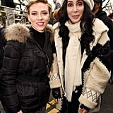 Pictured: Scarlett Johansson and Cher