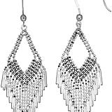 Kohl's Sterling Silver Beaded Chandelier Earrings