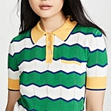 Stella Jean Striped Polo Shirt