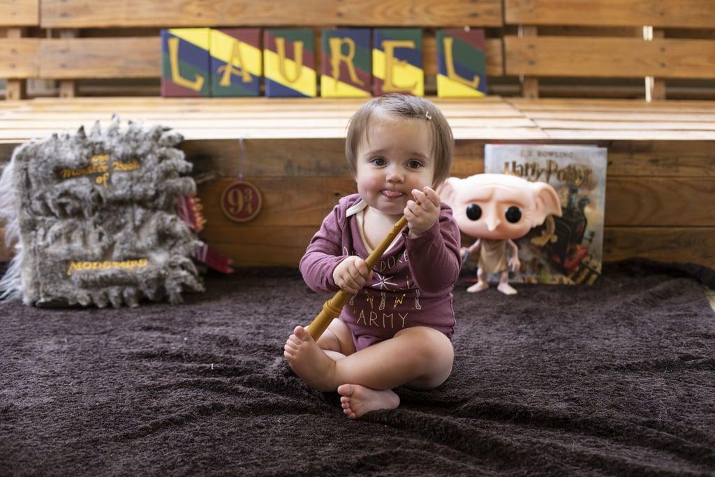 Baby Harry Potter Photo Shoot