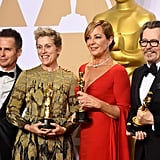 Pictured: Sam Rockwell, Frances McDormand, Allison Janney, and Gary Oldman