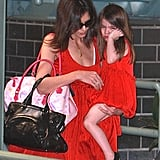 Photos of Suri and Katie