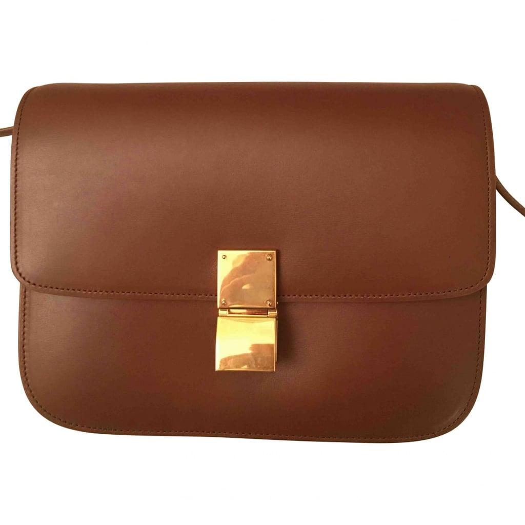 bffc8ffb02e7 Céline Classic Leather Crossbody Bag ( 2