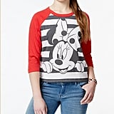Minnie Mouse Graphic Baseball T-Shirt