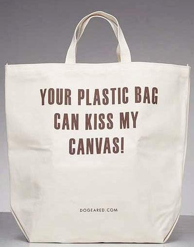 Fabworthy: Dogeared Canvas Bag