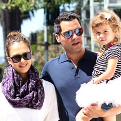 Jessica Alba Pictures With Honor and Cash Warren